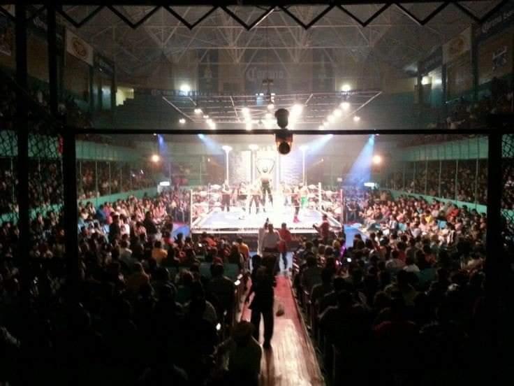 Foto: Facebook / Arena Puebla CMLL
