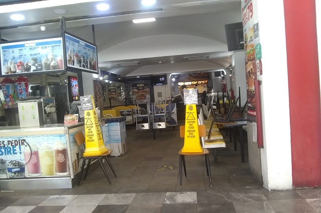 Ahora Puebla capital frena a restaurantes y comercios