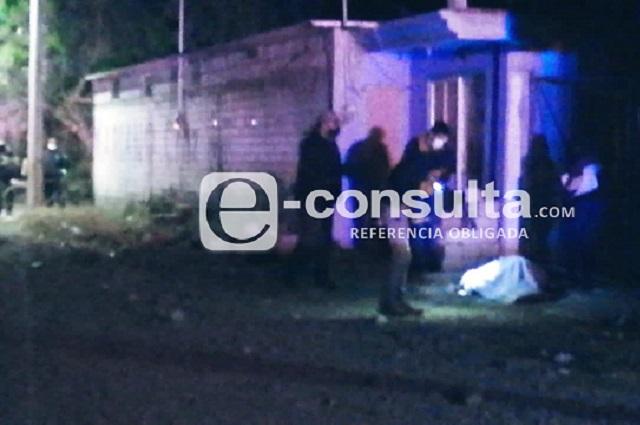 Lo matan a balazos afuera de su casa en Tecamachalco