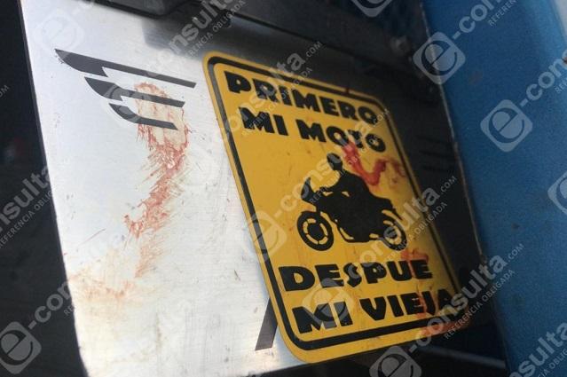 Cansancio cobra la vida de motociclista en la Puebla- Orizaba