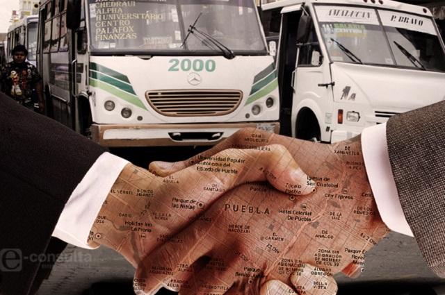 Firman acuerdo en Puebla: tarifa del transporte será de 8.50 pesos