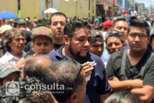 Detención de líder de ambulantes, El Fede, por posesión de drogas