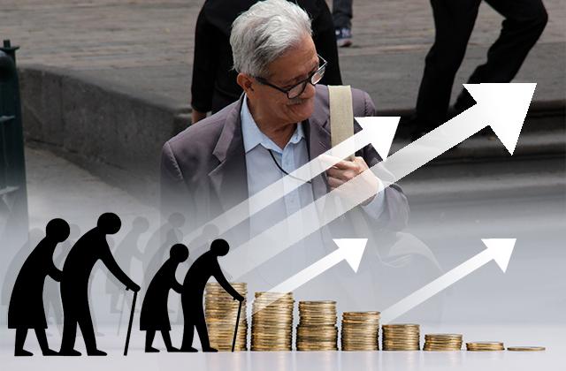 Paga federación en Puebla 9 veces más por pensiones que en sueldos