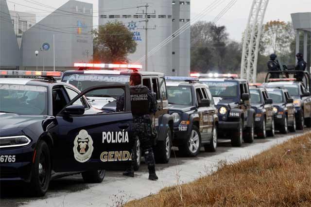 Contratará Puebla 150 policías federales o militares para fin de año