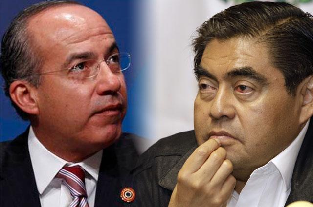 Critica Calderón a Barbosa por decirse pobre; él lo llama borracho