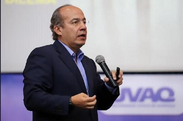Por coronavirus, Calderón exige que AMLO no haga recortes en salud