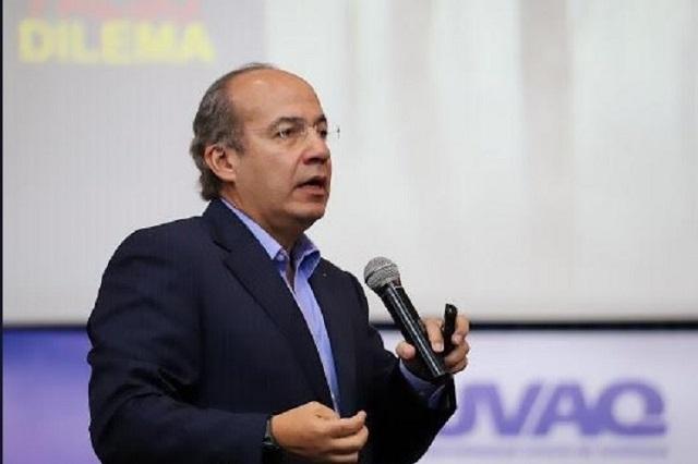 Calderón exige investigar caso de espionaje que denunció el PAN
