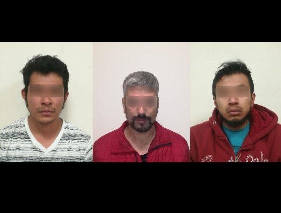 Vinculan a proceso a tres hombres detenidos con droga en Puebla