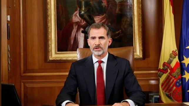 El rey Felipe VI afirma que Cataluña seguirá perteneciendo a España