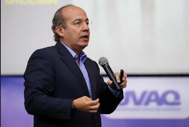 Presidente de la Corte, porrista de AMLO, dice Felipe Calderón