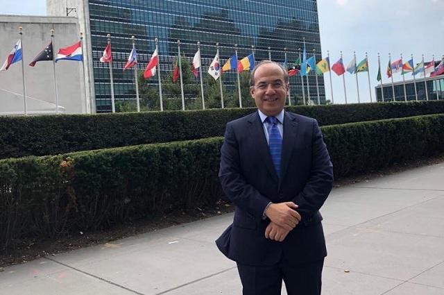 Felipe Calderón suspende conferencia en el Tec de Monterrey