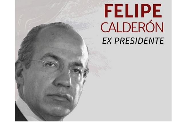 Cobardía inadmisible acusar de bots a mi hijo, dice Calderón a AMLO
