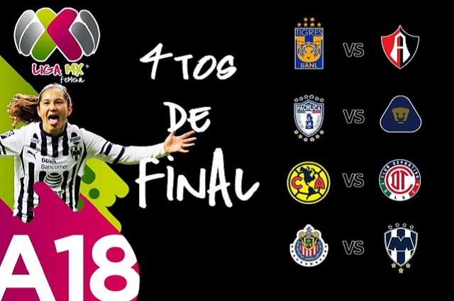 Sin equipos poblanos, lista la liguilla de la Liga MX Femenil