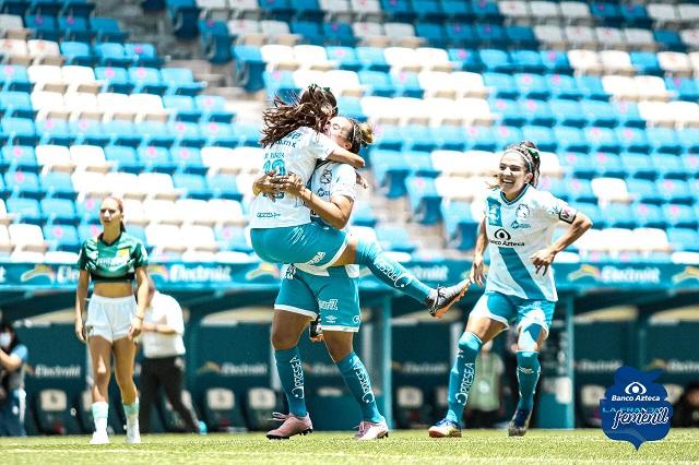 Puebla Femenil debuta con goleada de 3-1 sobre León