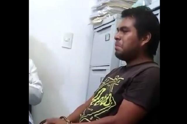 Feminicida advierte en video que si sale de la cárcel matará a más mujeres
