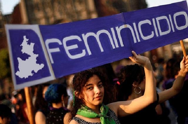 Activistas registran el doble de feminicidios en Puebla este 2020