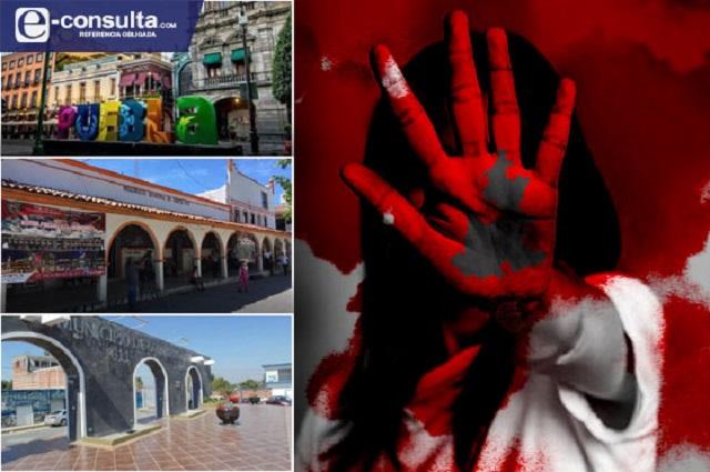 Aquejan feminicidios a más de 40 municipios en Puebla