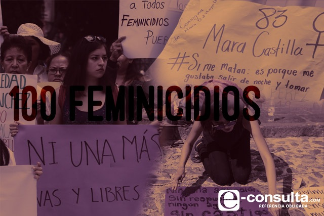 Alcanza Puebla 100 feminicidios antes de que acabe el 2017