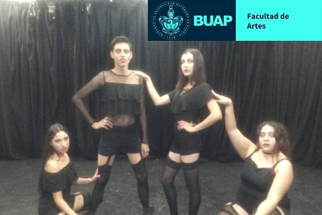 Obra Feminicidios, Cabaret Brechtiano, se presenta en la BUAP