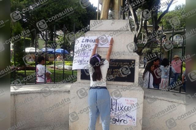 Llaman a marcha feminista para este 15 de septiembre en Atlixco