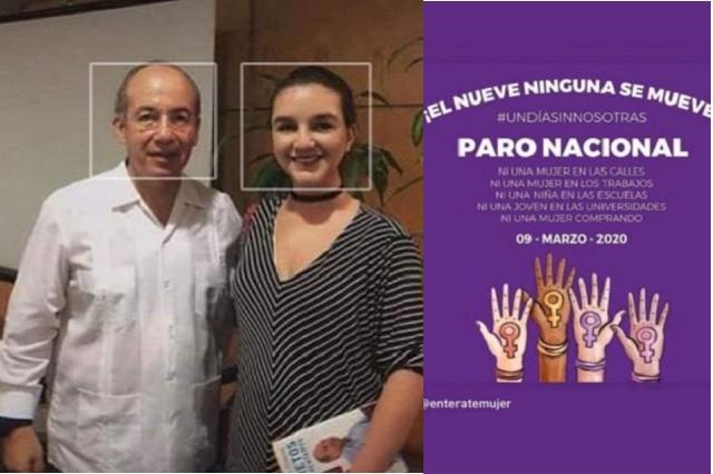 Acusan nexos entre colectivo feminista 'Brujas del Mar' con Felipe Calderón