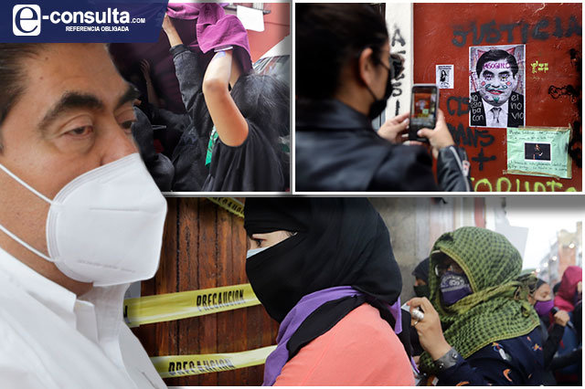 Respetables pero insultantes, protestas feministas: Barbosa