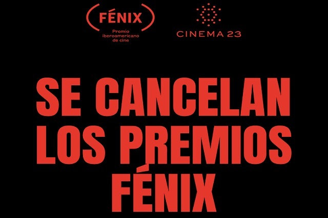 Cancelada la entrega de Premios Fénix 2019