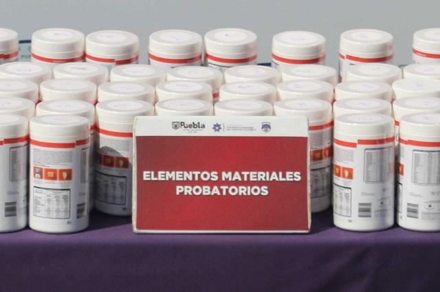 Decomisan 42 kilos de fentanilo en la CAPU; valen 352 mdp