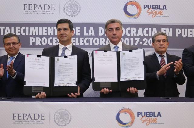 Creará Gali Fayad Fiscalía Electoral para Puebla