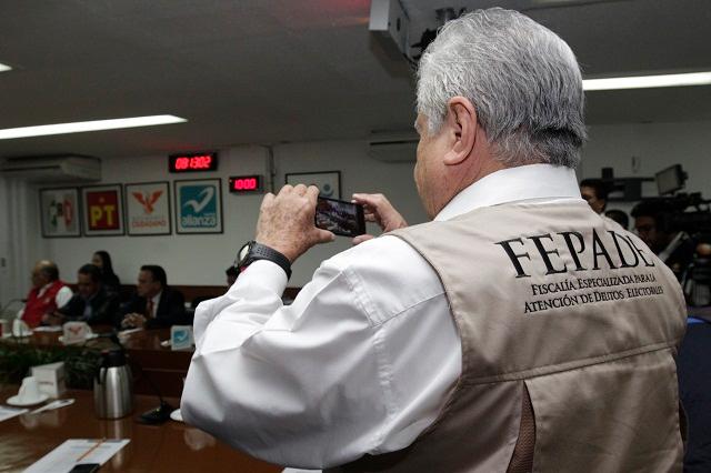 Castigar delitos electorales en el estado de Puebla, exige el PRI