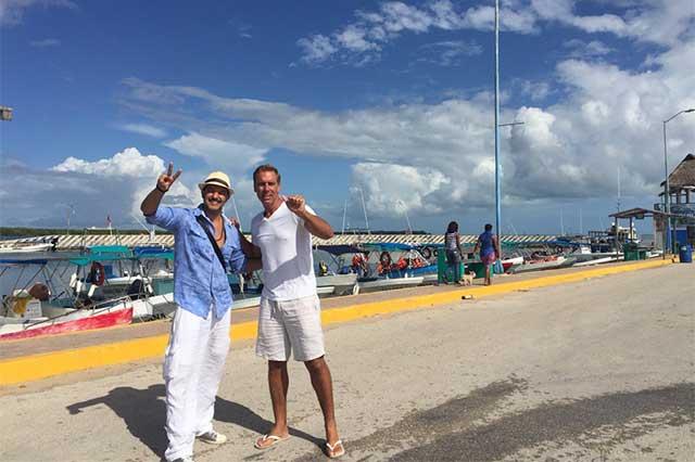 En las buenas y en las malas: Fernando Del Solar visita a Raúl Osorio