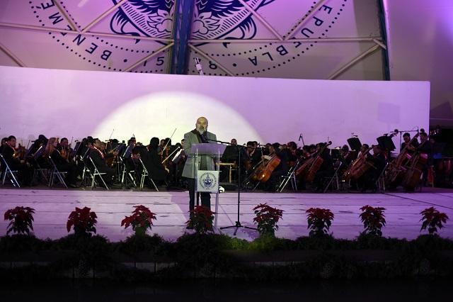 Con música y danza celebra BUAP el tradicional Concierto Navideño
