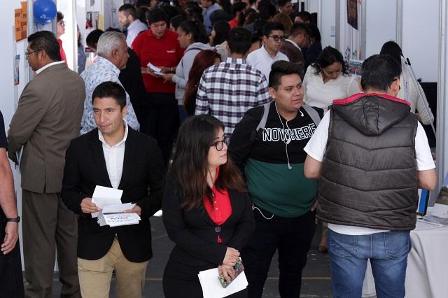 Se frena en julio caída del empleo formal en Puebla