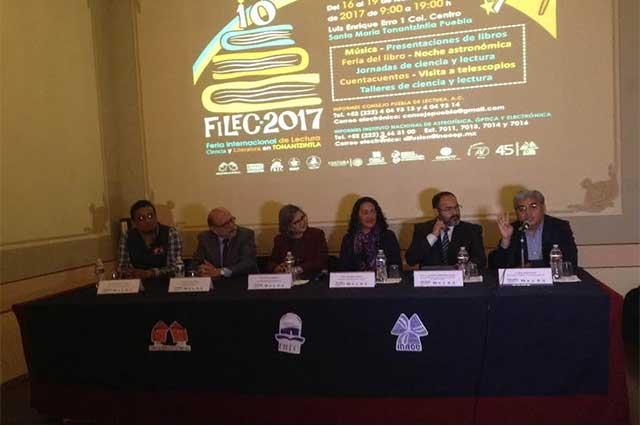 Feria Internacional de la lectura realizarán INAOE y BUAP