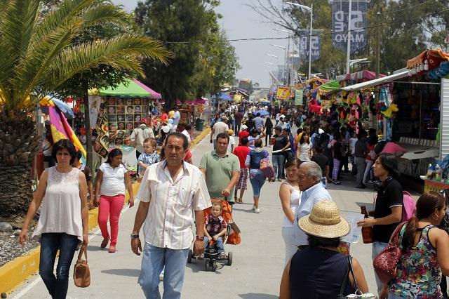 Feria de Puebla espera recibir a más de 1 millón 100 mil visitantes
