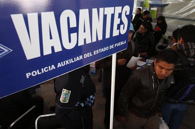 En Feria del empleo, Policía Auxiliar ofrece 600 vacantes