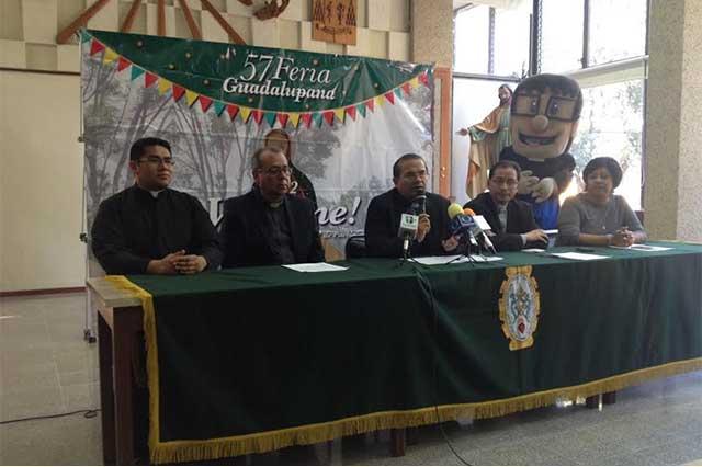 Feria Guadalupana busca recaudar 2 mdp para Seminario Palafoxiano