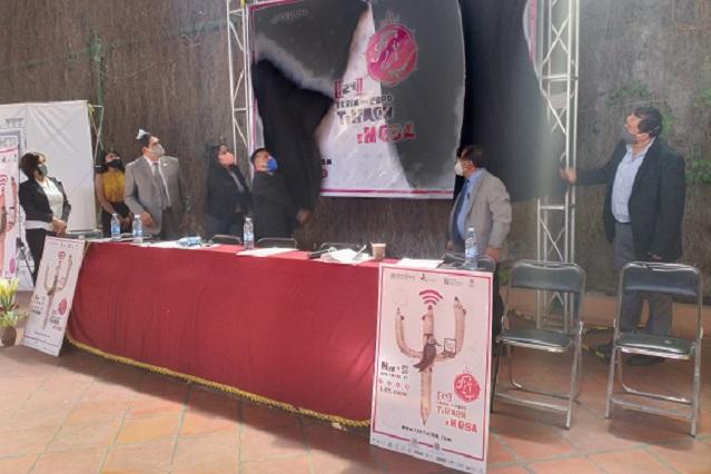 Presentan detalles de la 24 Feria del Libro en Tehuacán