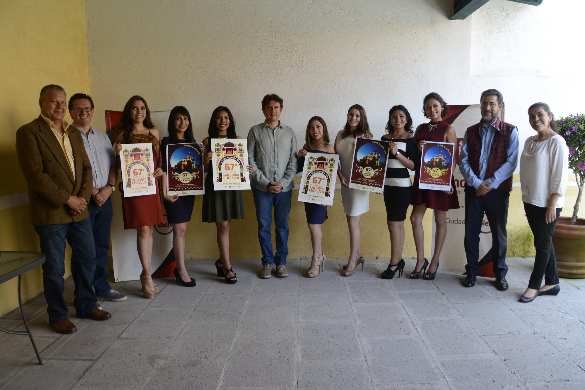 Presentan la edición 67 de la Feria de San Pedro Cholula