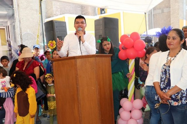 Invita edil de Quecholac a la apertura de la Feria Palmarito Tochapan 2019