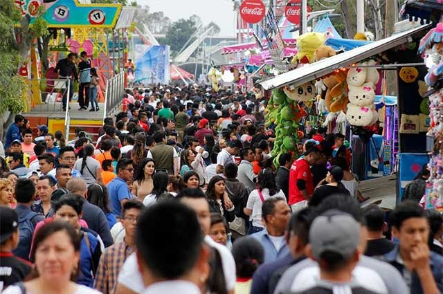 La Feria de Puebla hasta noviembre por coronavirus