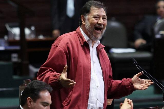 El diputado Fernández Noroña da positivo a covid 19