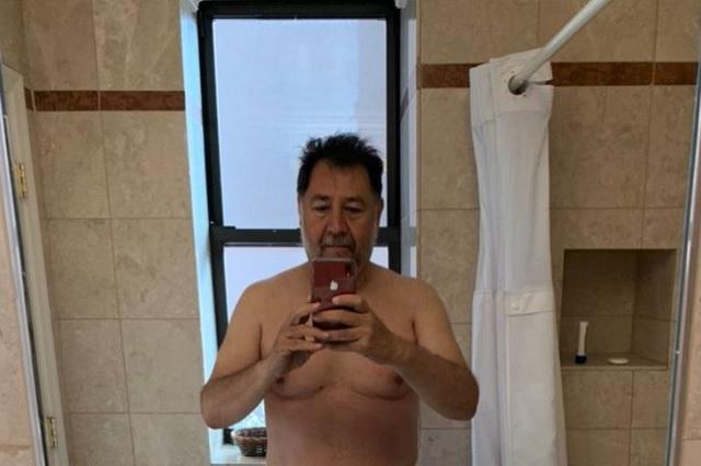 Diputado Fernández Noroña comparte su 'pack' en Twitter
