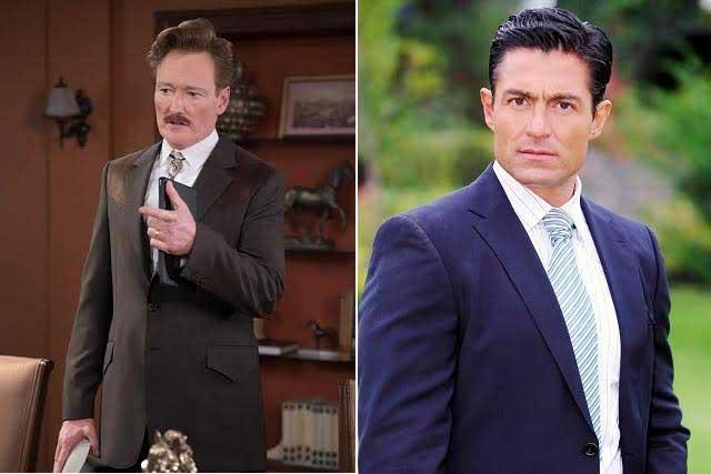 Conan O'Brien afirma ser idéntico a Fernando Colunga