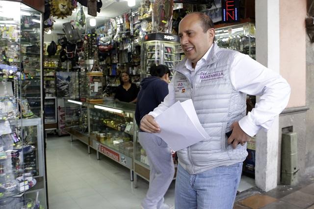 Puebla está dividida y requiere gobernabilidad: Manzanilla