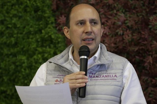Manzanilla denuncia manipulación del PREP por el morenovallismo