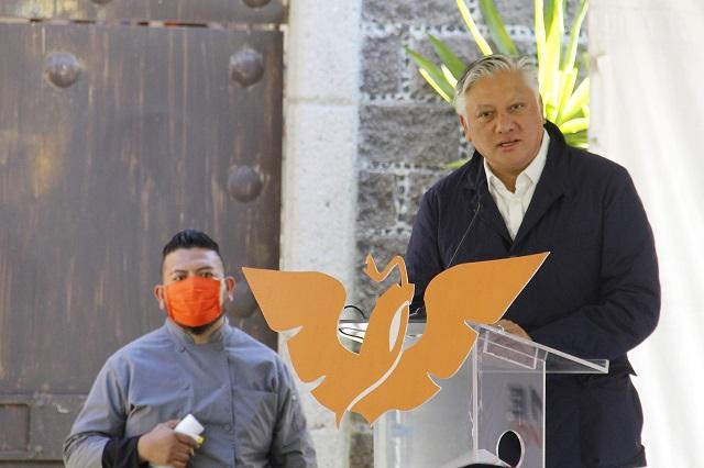 Líderes de partidos se aseguran diputaciones pluris en Puebla