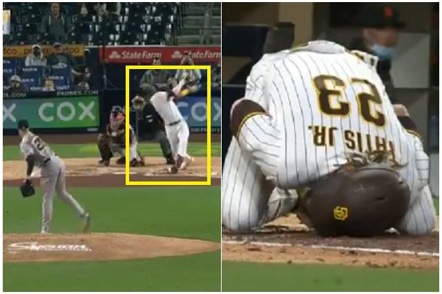 MLB: Fernando Tatis Jr. se disloca el hombro debido a un mal bateo