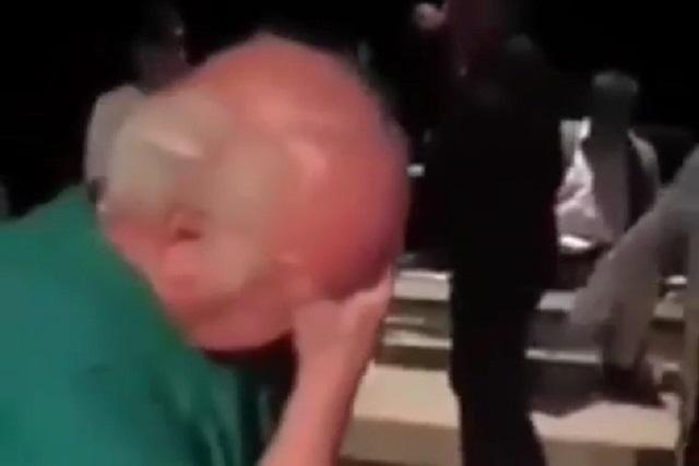 Con video muestran que Jesús Ochoa no golpeó a Larrañaga