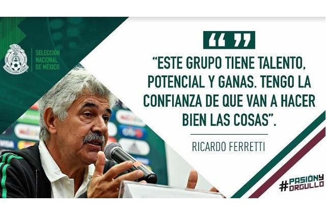 Ferretti elogió a los mexicanos que militan en Europa